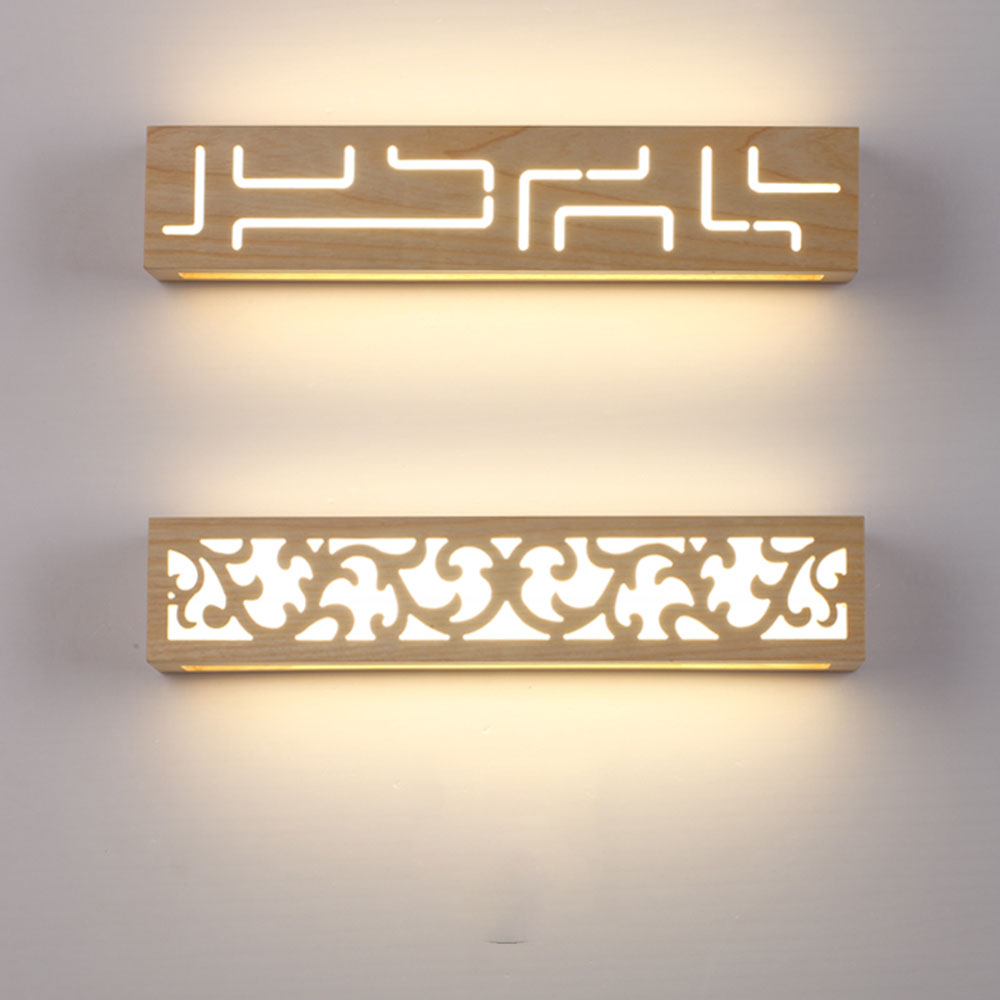 Rustic Wall Sconces Led Bathroom Mirrors Wall Lights 110 220v Bedroom Wall Lighting Contemporary Luminarias