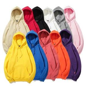 خمر الألوان الرجال هوديي البلوز عادي الشتاء كنزة صوف هوديس المتناثرة الهيب هوب الشارع الشهير الخريف 2018 الحضرية الملابس