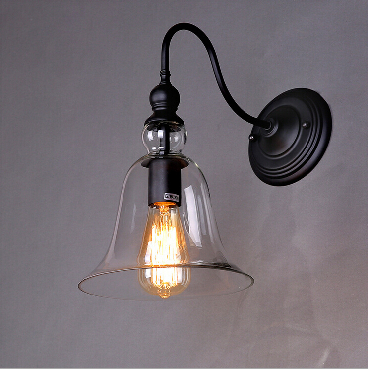 Free Shipping!Nordic LOFT American Country Style,Restaurant Retro Industrial Bar wall Light Lamp,Creative British Lighting