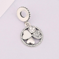 Fit Original Brand Charms Bracelets Flower Enamel Hearts 100 925 Sterling Silver Luck Day Love Bead