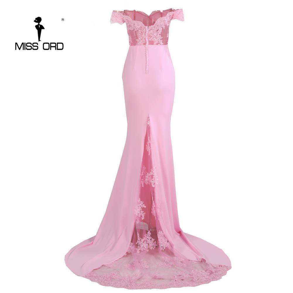 فستان سهرة  Missord جذاب مع ذيل وذو تصميم مميز 16