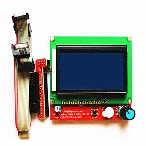 Image 2 - Kit de impresora 3D CNC para Arduino Mega 2560 R3 + controlador rampas 1,4 + LCD 12864 + 6 interruptor de límite Endstop + 5 controlador paso a paso A4988