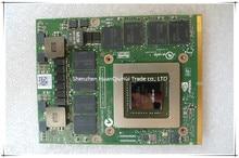 Wholesales For M6700 Laptop T9V0C 0T9V0C N14E-Q5-A2 4G GDDR5 VGA MXM 3.0 256Bit Video card K5000M Graphics card full tested original gpu veineda gtx1080 8gb 256bit gddr5 1633 5004mhz video graphics card