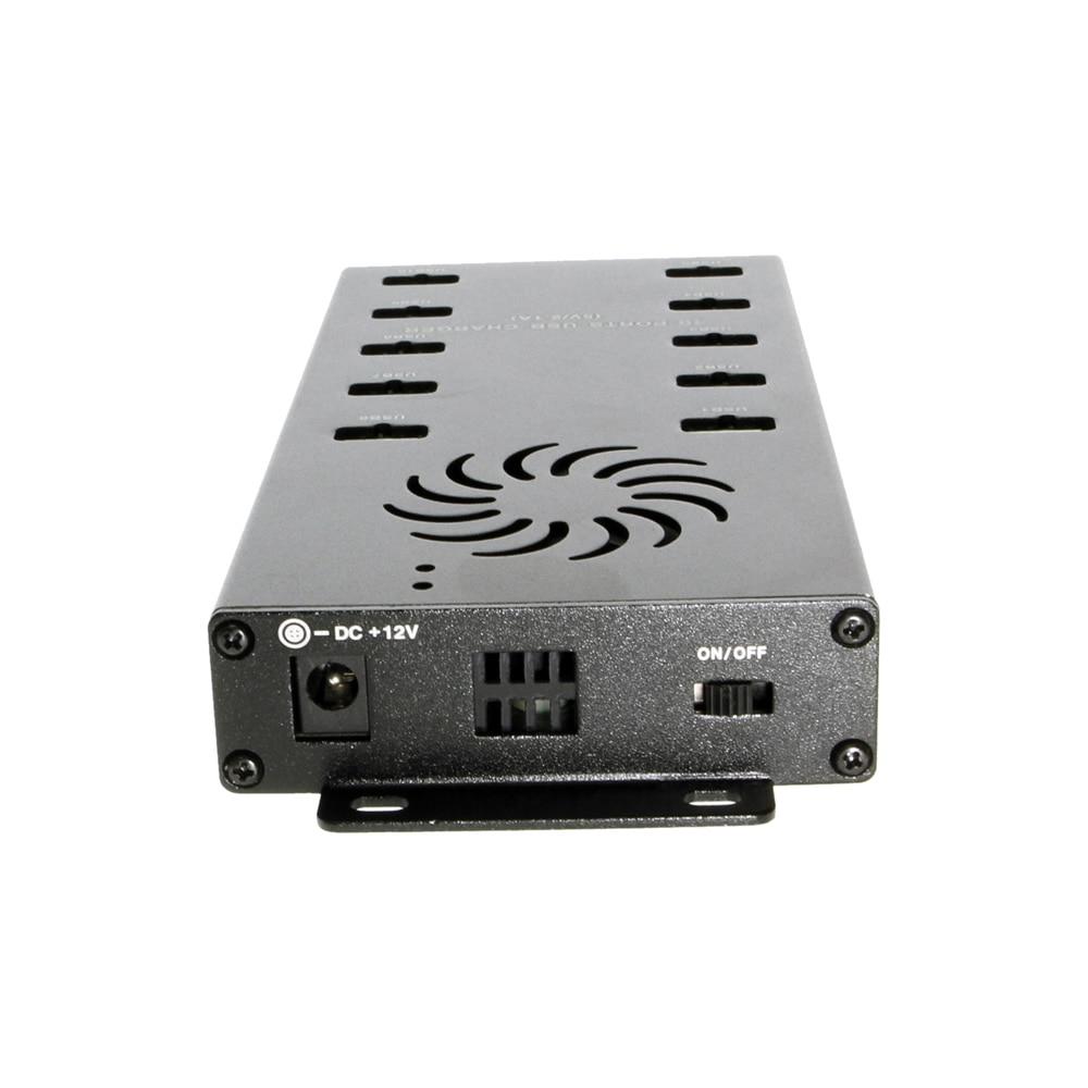 10 Port USB Tablet Charging Station