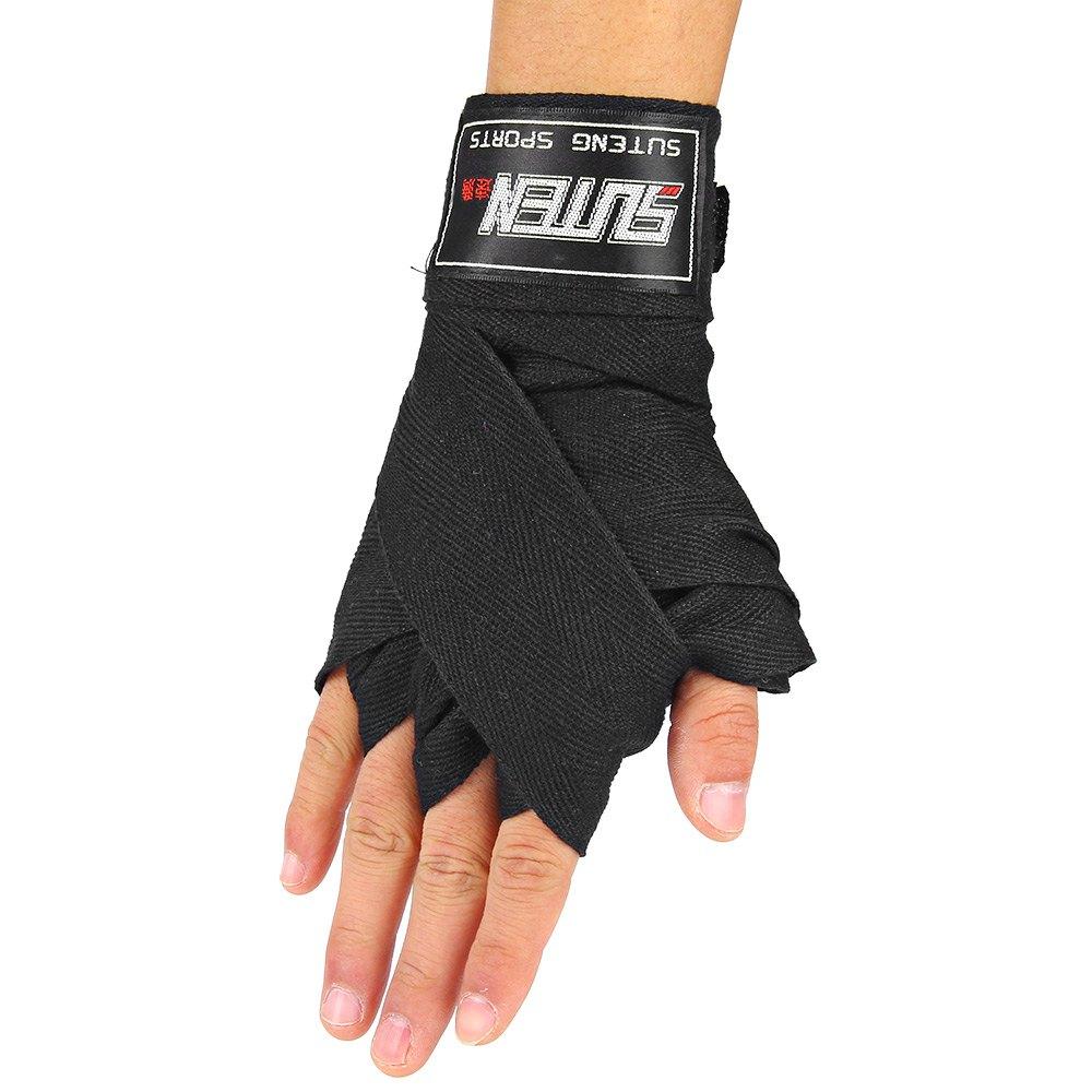 SUTEN 2.5M Elastic Gloves Boxing Hand Bandages Sanda Fighting Hand Strap Wrist