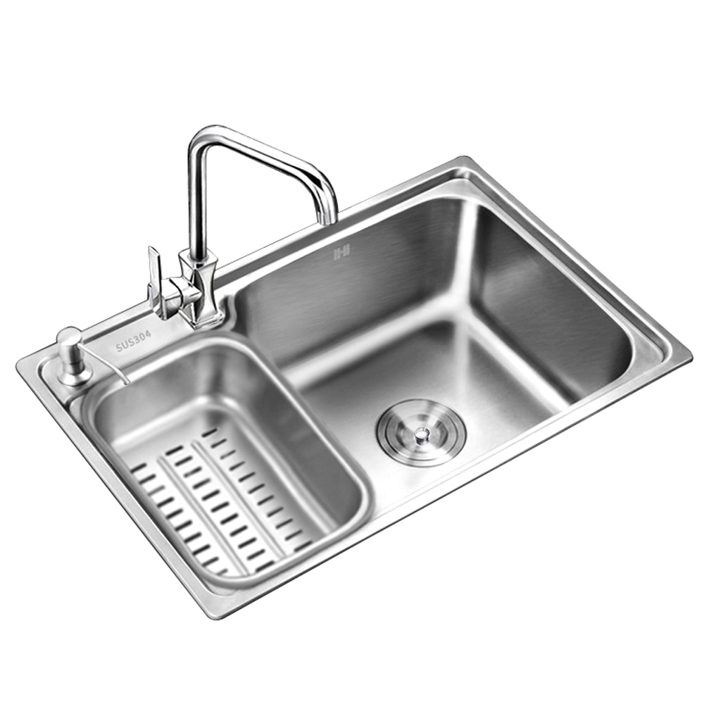 Kitchen Sink Drawing: Aliexpress.com : Buy More Single Tank 304 Stainless Steel