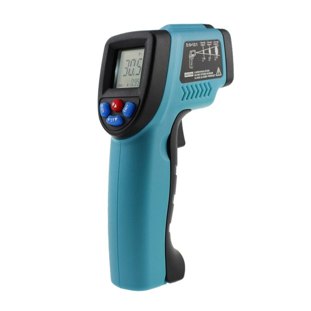 GM550 Digital Infrarot Thermometer Pyrometer Aquarium Laser Thermometer Außen Thermometer IR Laser Punkt Werkzeug