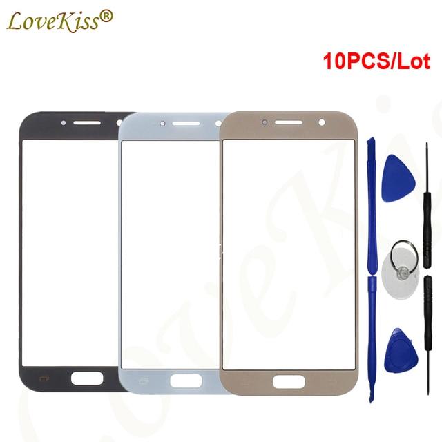 Lovekiss Touch Screen Sensor Panel Digitizer Glass For Samsung Galaxy A3 A5 A7 2017 A320 A320F A520 A520F A720 A720F Replacement