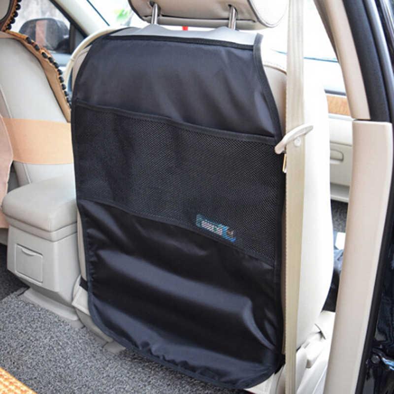 1 adet 65*44cm araba koltuğu arka Scuff kir koruyucu kapak çocuklar için Kick temiz Mat korur Anti kirli saklama torbaları