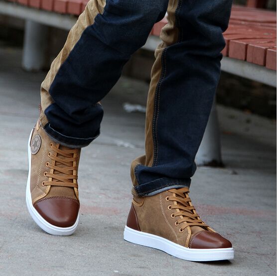 New Fashion Sneakers For Men Casual Leather Boots G