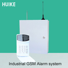 (1 Set) Iron Box Industry Alarm System Wireless 433MHz Remote control LED keypad 16 wireless and 16 wire zones GSM PSTN dual net(China)