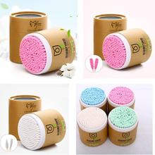 Disposable Antiseptic Cotton Swab Yfashion 200 Pcs Wood Sticks Bamboo Soft Buds Microbrush For Makeup Ear Cleaning Tool