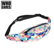 3D Print Belt Bags men Unisex waist fanny Bag Hip Money Belt Travelling Mountaineering Mobile Phone Bag Waist Packs