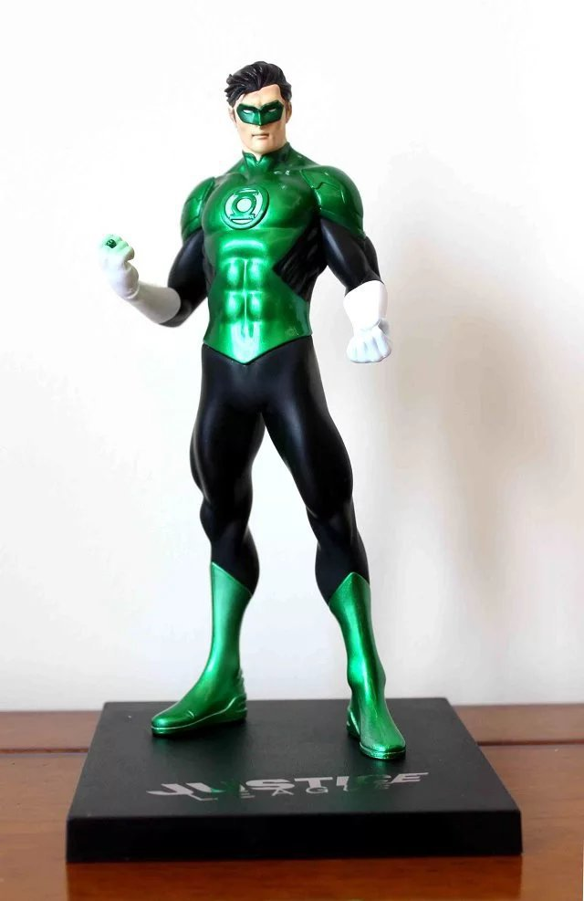 1/8 Scale Painted Figure 52th Ver. Justice League Green Lantern Doll PVC Action Figure Collectible Model Toy 18cm KT3333 shfiguarts superman shf figuarts in justice ver pvc action figure collectible model toy