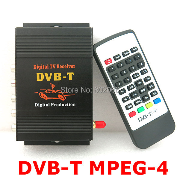 dvb t mpeg 4 car digital tv receiver dvb t tv turner compatible with dvb t sd mpeg2 and mpeg4. Black Bedroom Furniture Sets. Home Design Ideas