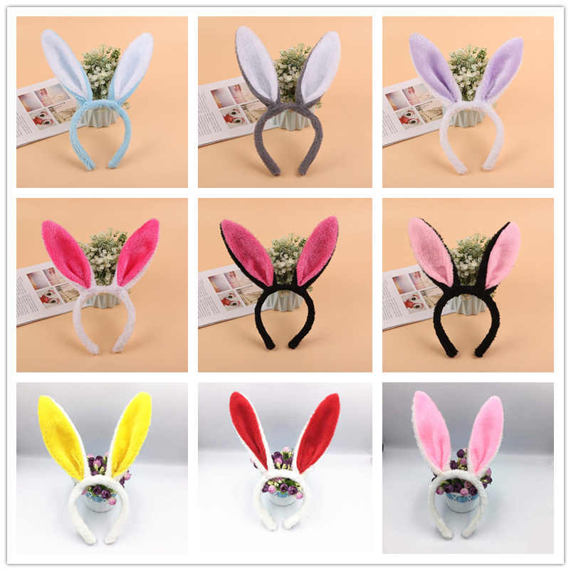 Easter Adult Children Cute and Comfortable Hairband Rabbit Ear Headband Fancy Dress Costume Bunny Ear Hairband Hair Accessories