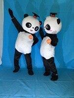 Free Shipping New Kung Fu Panda Mascot Costume Christmas Halloween Birthday Party Bear Mascot Costume Fancy