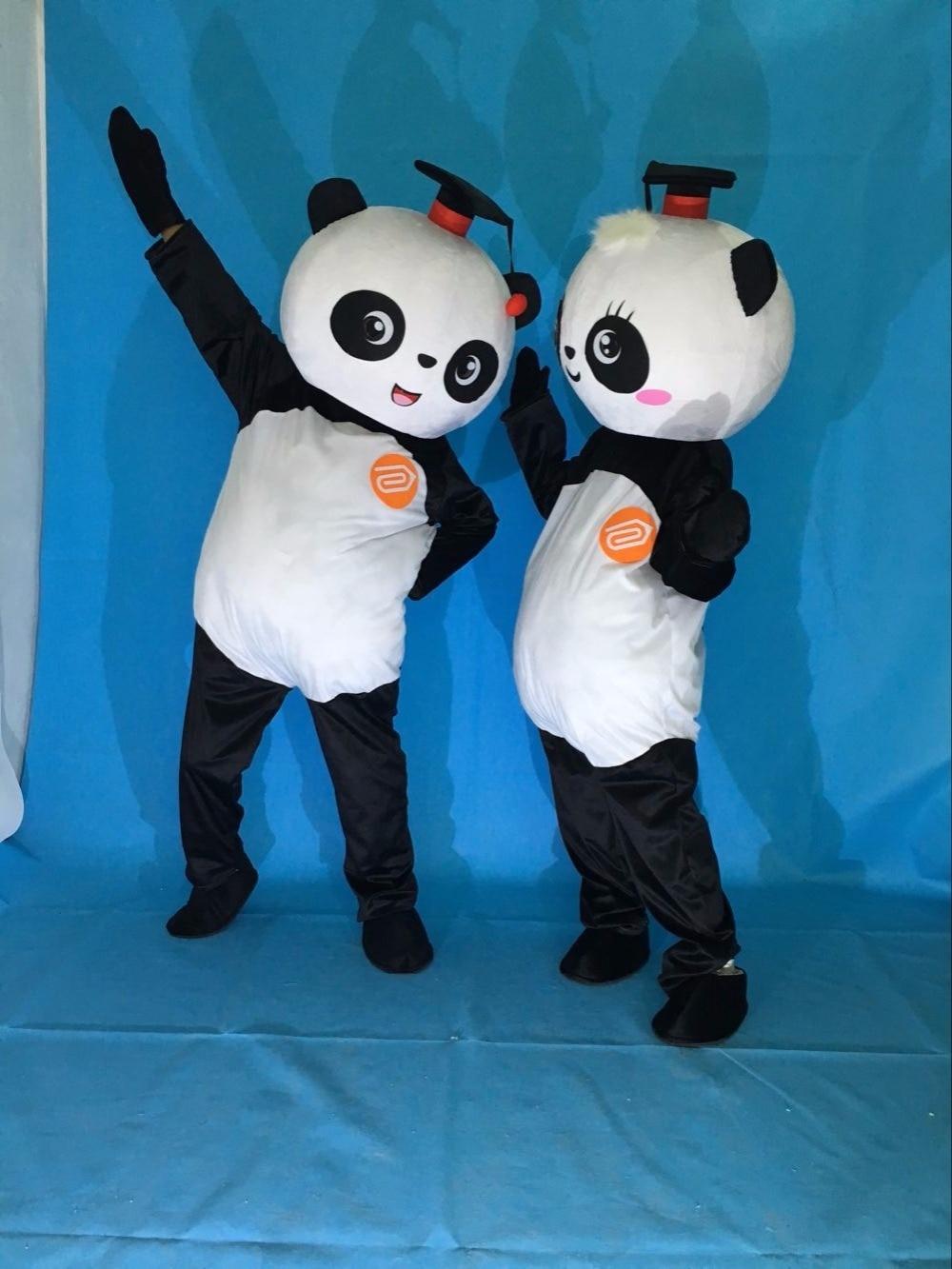 free shipping new kung fu panda mascot costume christmas halloween birthday party bear mascot costume fancy dress adult size - Kung Fu Panda Halloween