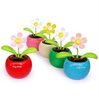 Free shipping 5pcs/lot Solar Flower Flip Flap Solar Flower and other  flip flap solar toy in shop -