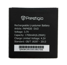 PAP4020 DUO 1700mah High Quality Replacement Li-ion Battery for Prestigio PAP4020 DUO MultiPhone Battery стоимость