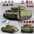 Segunda Guerra Mundial Alemanha N ° 3 No. três tanque modelo n tipo de saia lateral armadura 1: 72 Veyron terminado modelo 60452