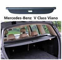 Pour mercedes-benz classe V Viano 2010-2018 coffre arrière bouclier de sécurité couvercle de cargaison accessoires Auto de haute qualité noir Beige
