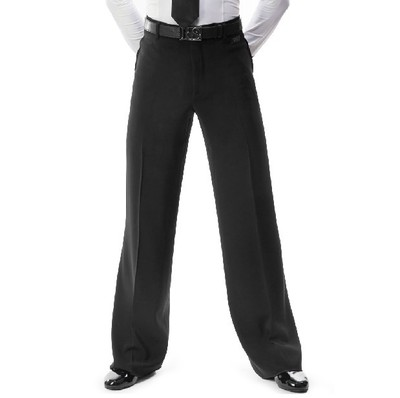 2019 New Arrival Men Jazz/Latin Dance Trousers Pants Black Mens Ballroom Dance Pants Dance Wear Practice/Performance 2 Models