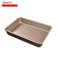 Nonstick Metal Box Loaf Tin Kitchen Pastry Bread Cake Baking Pan Biscuit Baking Pies Dish Roast Meat Tray BBQ Accessories Tools