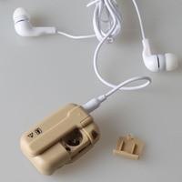 Новый личный Звук усилитель голоса с наушников в слуховой аппарат уха Acousticon прослушивания уход DC88