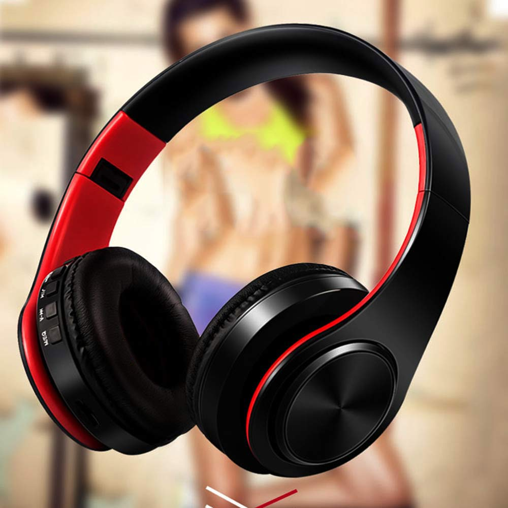 Portable Headphone Wireless Headset Foldable Bluetooth Earphones casque sans fil sport Earphone headphones For Iphone,Xiaomi,PC remax 2 in1 mini bluetooth 4 0 headphones usb car charger dock wireless car headset bluetooth earphone for iphone 7 6s android