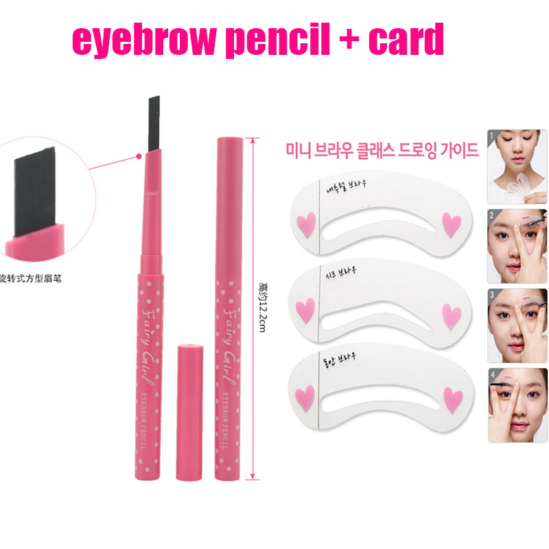 New Arrival Pencil Brow With Brow Class Eyebrow Pencil Card Tool