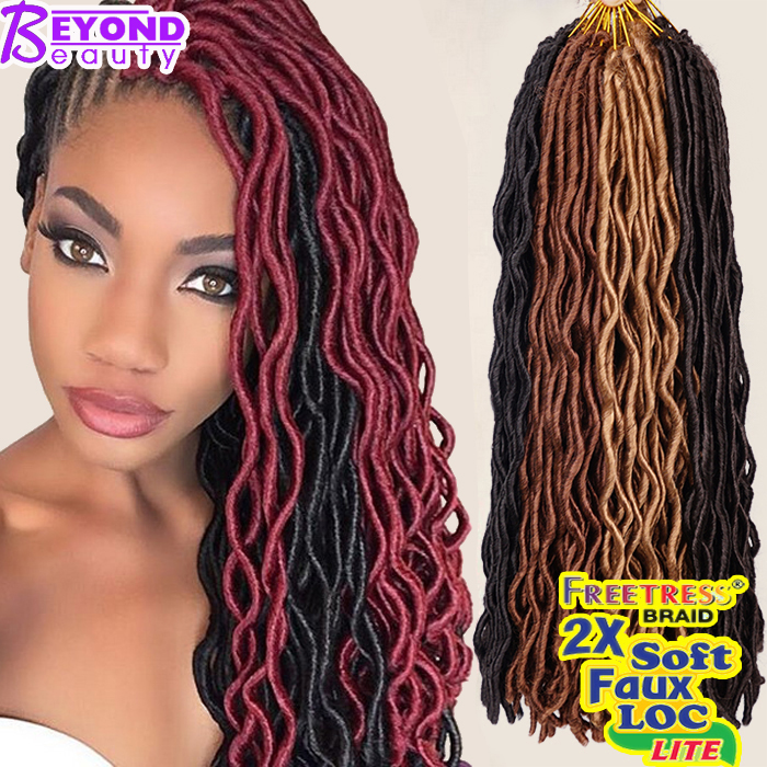Faux Loc Crochet Hair Janet Collection : Janet Collection Havana Mambo Faux Locs 24Roots Faux Locs Crochet Hair ...