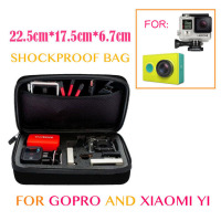 Xiaoyi Gopro Anti Shock Portable Bag For Xiaomi Yi Gopro Hero 4 3 3 2 Cameras