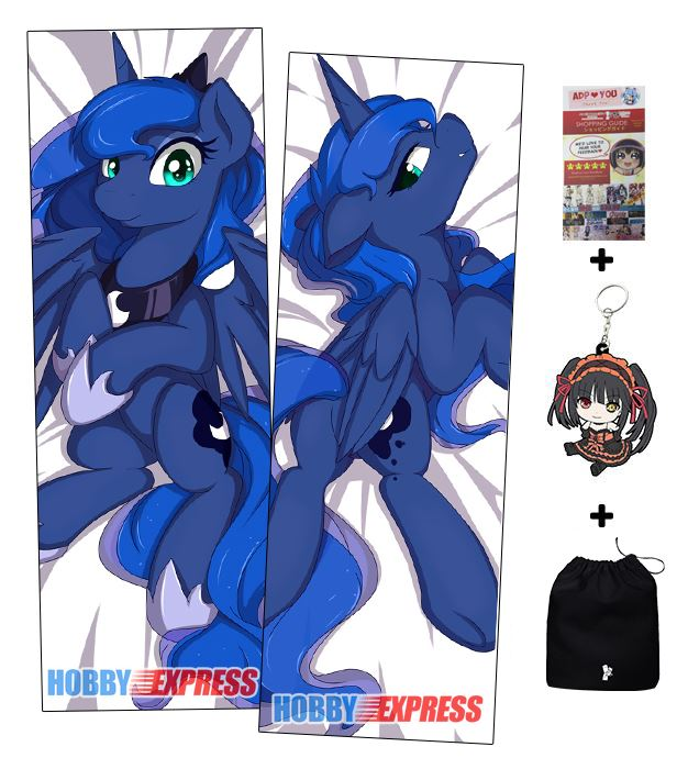 Hobby Express Princess Luna Anime Dakimakura Japanese Hugging Body Pillow Cover ADP64066 In Case From Home Garden On Aliexpress