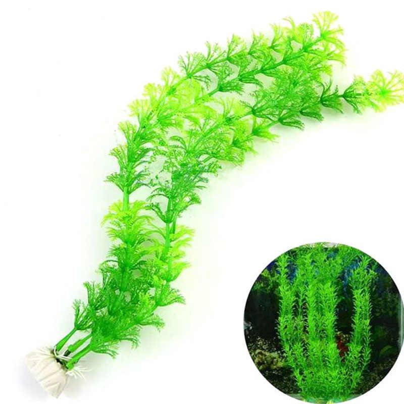 30cm subaquática artificial planta ornamentos aquário tanque de peixes água verde grama decoração paisagem