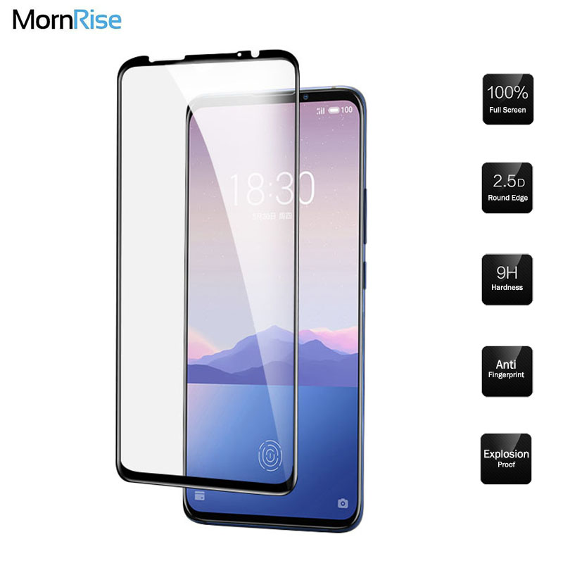 2PC Full Cover Toughened Tempered Glass For Meizu 16Xs Glass Screen Protector Film For Meizu 16 Xs Protective Glass Guard