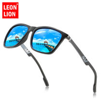 Солнечные очки leonlion в винтажном стиле uv400 Мужские поляризационные