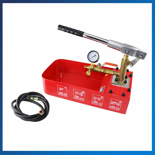 ZD-50 Water Pressure Testing Pump Portable Plumber Tools Manual Pressure Test Pump