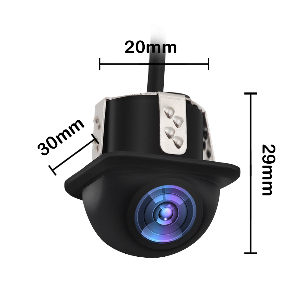 Image 5 - 20 мм бурение Автомобильная камера заднего вида IP68 Водонепроницаемый 12 V Авто Камера задняя универсальные автомобильные камеры заднего вида для парковки Камера-in Камера для авто from Автомобили и мотоциклы