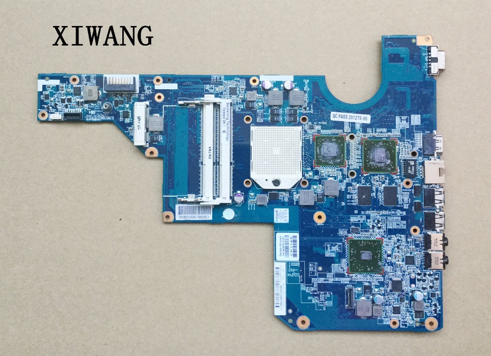 100% tested original 597673-001 motherboard FOR HP G62 laptop Notebook PC Mainboard system board working perfect new original 684318 001 for hp elitebook 8560w series laptop notebook motherboard system board 100