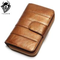 2017 New Style Women Wallets Brand Design High Quality Genuine Leather Wallet Female Hasp Fashion Dollar