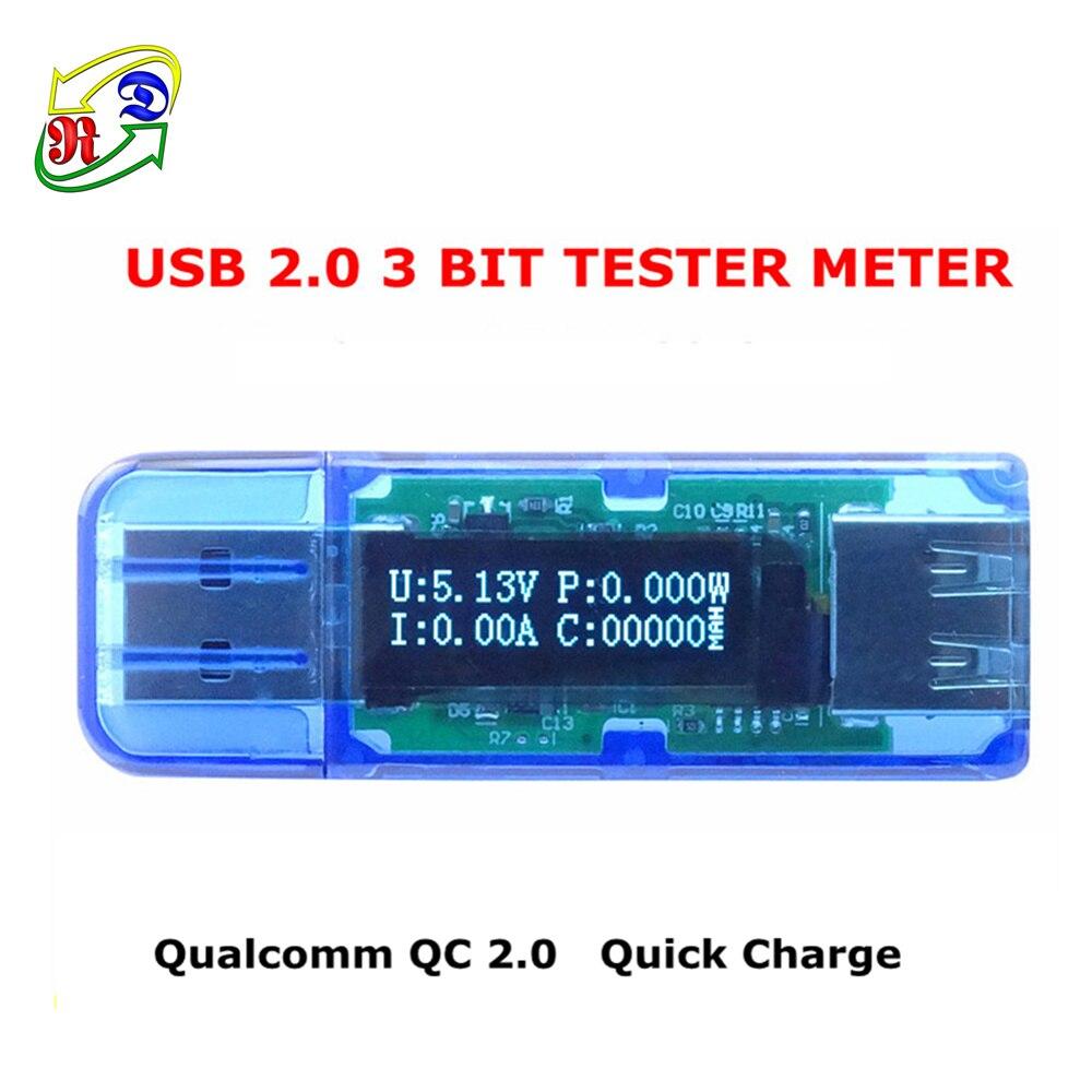 Rd Um25 Um25c For App Usb 20 Type C Lcd Voltmeter Ammeter Voltage Cr7 Green Oled