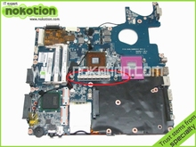 laptop motherboard for toshiba satellite P300 P350 DABL5MMB6E0 A000040070 GM45 ddr2 with graphics slot