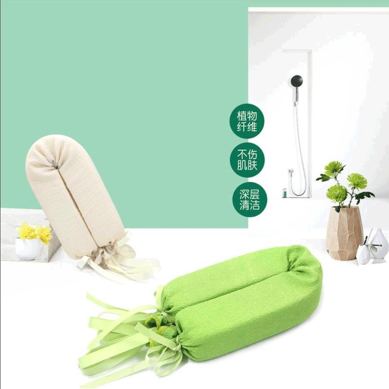 2019 Fashion Shower Washcloth Long Back Soft Body Cleaning Bath Spa Sponge Scrubber Skin Exfoliating Body Wash Towel Accessories 1