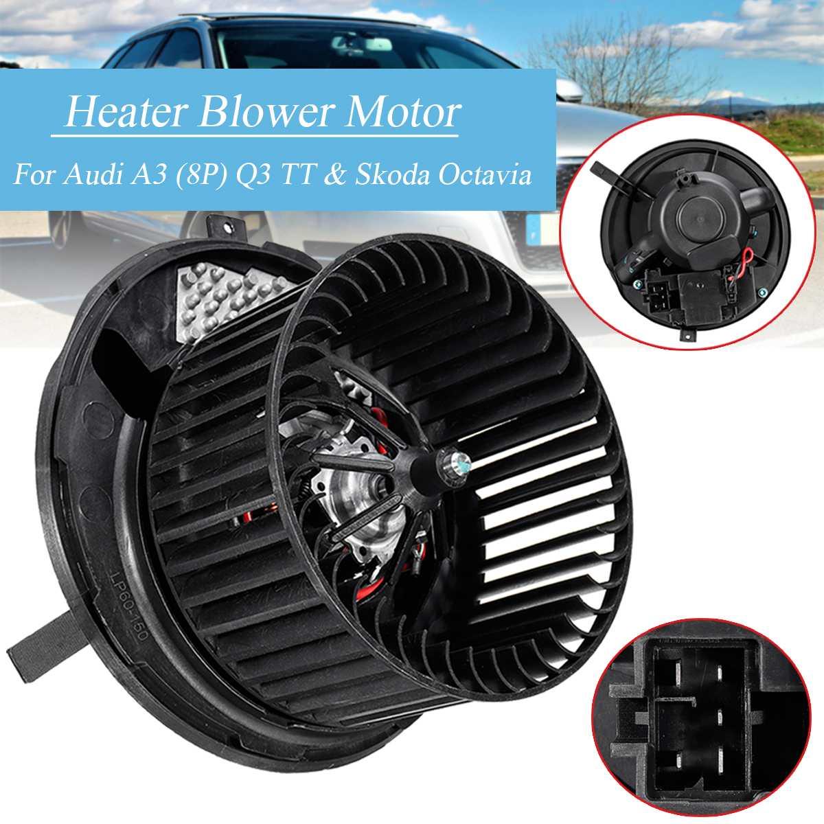 Moteur de ventilateur de ventilateur de chauffage de voiture 1K2820015 1K2820015H pour Skoda Octavia Superb/Yeti/Audi A3 TT Q3 CC
