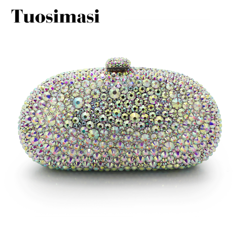 Diamond Crystal Mini Evening Party Bag Women Day Clutches Ladies Chain Gold Clutches Purses And Handbag (1017RW) purple mini diamond bag women shoulder bags women clutch bags ladies evening bag for party clutches purses and handbag 88632f