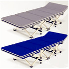 2018 new 25mm thick tube loading 200kg 10 seconds Folding offices siesta bed good durability outdoor camp bed for single man