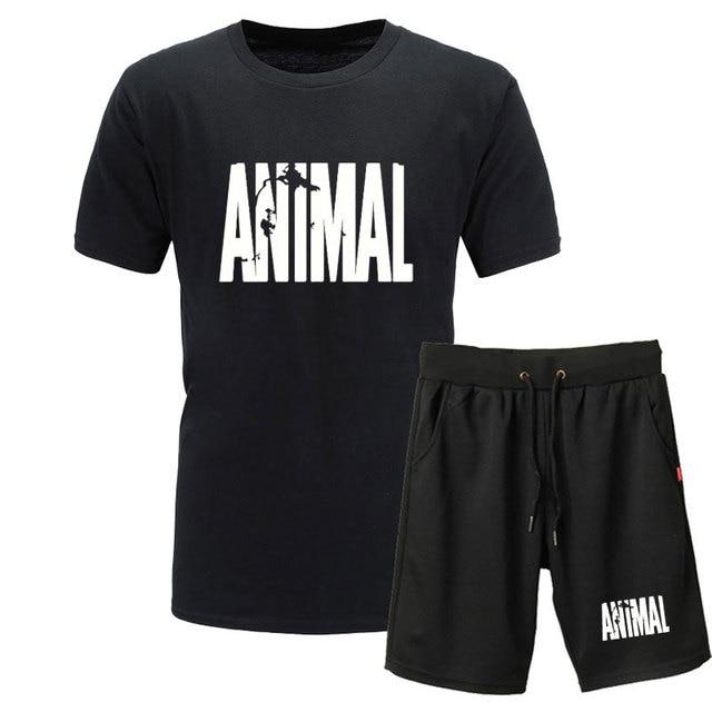 Animal Print Tracksuit T...