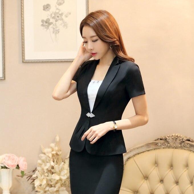 Online Get Cheap Black Short Sleeve Blazer -Aliexpress.com ...