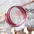 1 Unid Clavo Estampador de Ajedrez de Oro Rosa Claro Jalea Cabeza de Silicona con Tapa y BORN PRETTY Rascador